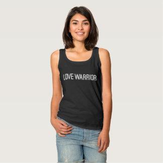 Regata Camisola de alças básica do guerreiro do amor
