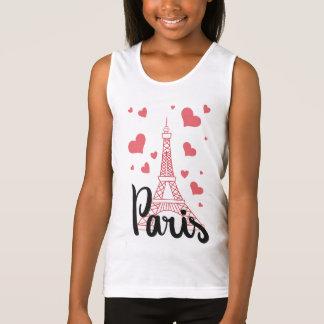 Regata Camisola de alças Básico Rapariga Paris