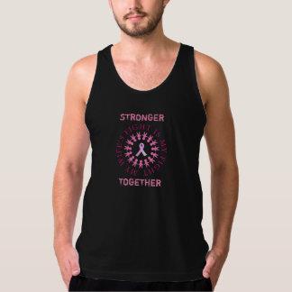 Regata Camisola de alças da consciência do cancro da mama