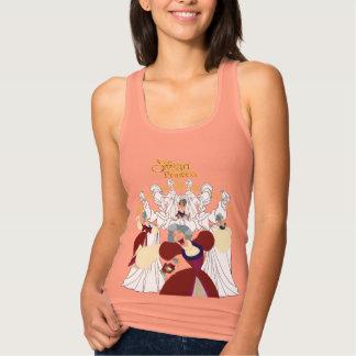 Regata Camisola de alças da princesa Rainha Uberta Esboço