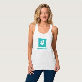 Regata Camisola de alças do azul de Hipstar Hashtag