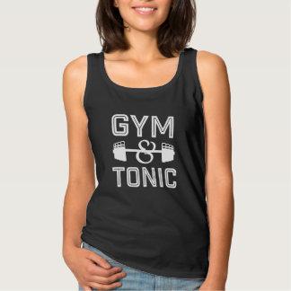Regata Camisola de alças do Gym e do tónico para mulheres