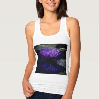 Regata Camisola de alças roxa de Lotus Waterlily
