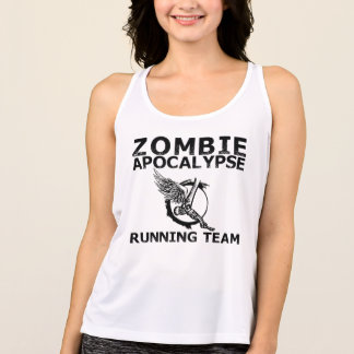 Regata Camisola de alças Running da equipe do apocalipse