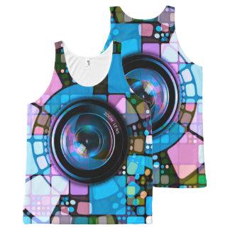 Regata Com Estampa Completa Arte abstracta 151