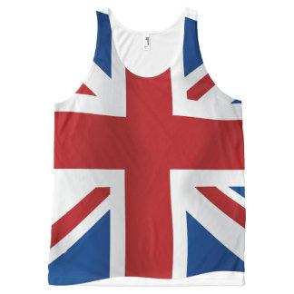 Regata Com Estampa Completa Bandeira britânica de Union Jack