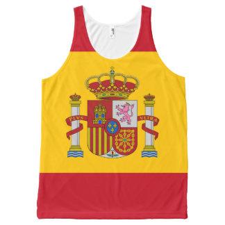 Regata Com Estampa Completa Bandeira da espanha - Bandera de Espana