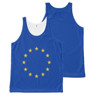 Regata Com Estampa Completa Bandeira da UE