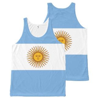 Regata Com Estampa Completa Bandeira de Argentina