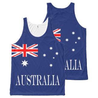 Regata Com Estampa Completa Bandeira de Austrália