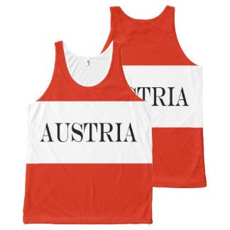 Regata Com Estampa Completa Bandeira de Áustria