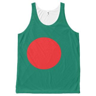 Regata Com Estampa Completa Bandeira de Bangladesh
