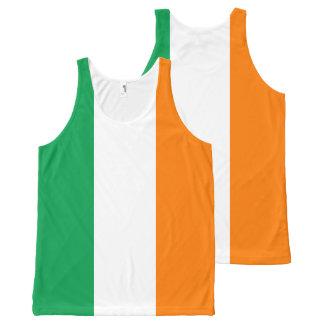 Regata Com Estampa Completa Bandeira de Ireland