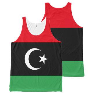 Regata Com Estampa Completa Bandeira de Líbia