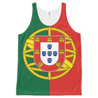 Regata Com Estampa Completa Bandeira de Portugal