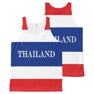 Regata Com Estampa Completa Bandeira de Tailândia