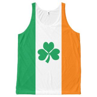 Regata Com Estampa Completa Bandeira do trevo de Ireland