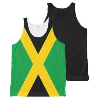 Regata Com Estampa Completa Bandeira jamaicana