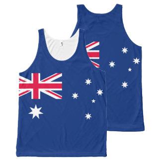 Regata Com Estampa Completa Bandeira nacional de Austrália