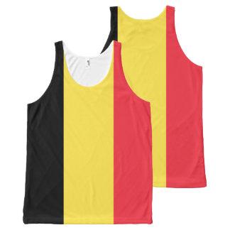 Regata Com Estampa Completa Bandeira nacional de Bélgica