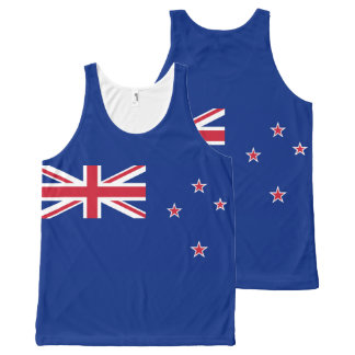 Regata Com Estampa Completa Bandeira nacional de Nova Zelândia