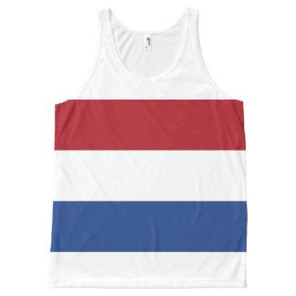 Regata Com Estampa Completa Bandeira nacional dos Países Baixos, Holland,