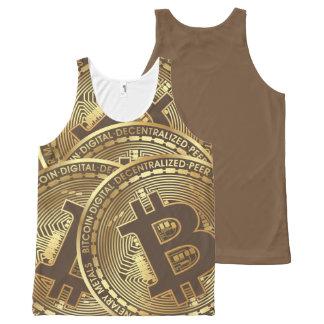 Regata Com Estampa Completa Bitcoin