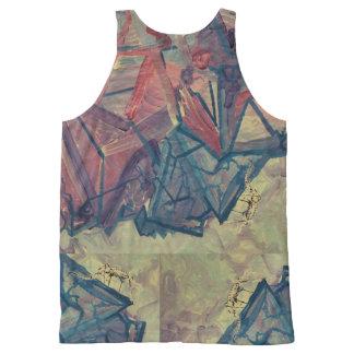 Regata Com Estampa Completa Camisa da escalada