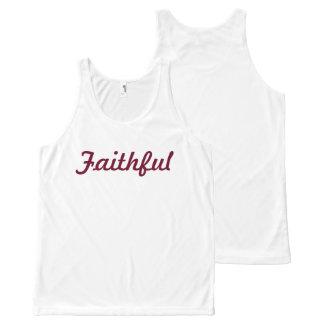 Regata Com Estampa Completa Camisa fiel