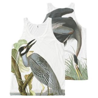Regata Com Estampa Completa Camisola de alças dos animais dos animais