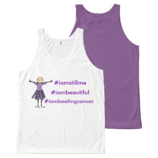 Regata Com Estampa Completa cancer #iambeating #iambeautiful do #iamstillme