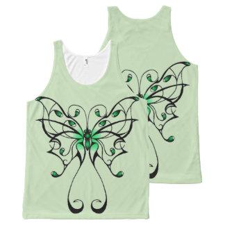 Regata Com Estampa Completa Dança 3 da borboleta
