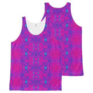 Bright Pink Turquoise design