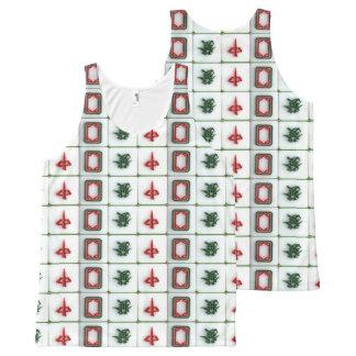 Regata Com Estampa Completa Dragões de Mahjong