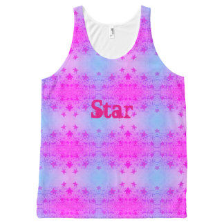 Regata Com Estampa Completa Estrela