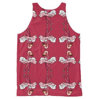 Regata Com Estampa Completa Estrela do flamingo