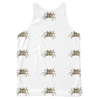 Regata Com Estampa Completa Foto escura do caranguejo
