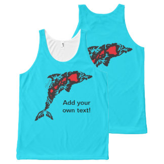 Regata Com Estampa Completa Golfinhos em Havaí