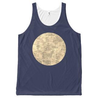 Regata Com Estampa Completa Lua