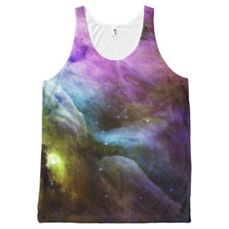 Regata Com Estampa Completa NASA dos redemoinhos do roxo da nebulosa de Orion