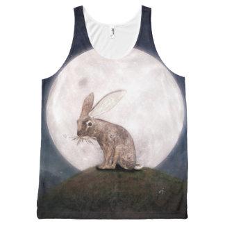 Regata Com Estampa Completa Night Rabbit
