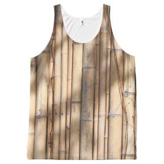 Regata Com Estampa Completa O bambu sombreia o teste padrão
