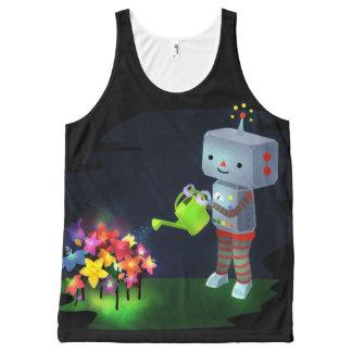 Regata Com Estampa Completa O jardim do robô