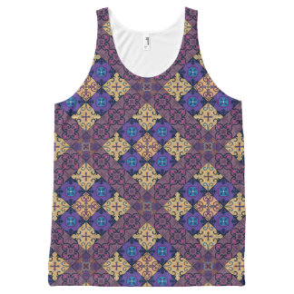 Regata Com Estampa Completa Ornamento de talavera do mosaico do vintage