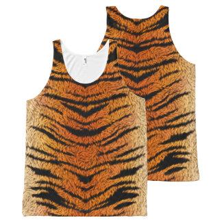 Regata Com Estampa Completa Pele do animal do tigre de Bengal