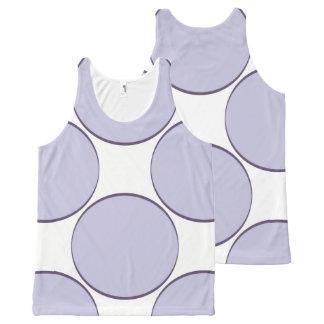 Regata Com Estampa Completa Ponto do Lilac