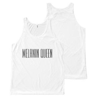 Regata Com Estampa Completa Rainha da melanina