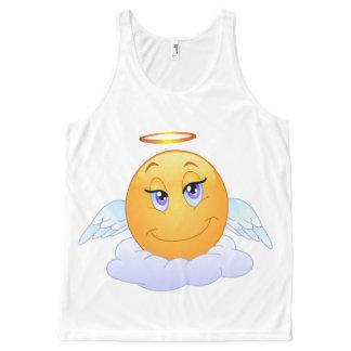 Regata Com Estampa Completa Smiley do anjo