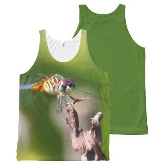 Regata Com Estampa Completa Tanque da libélula