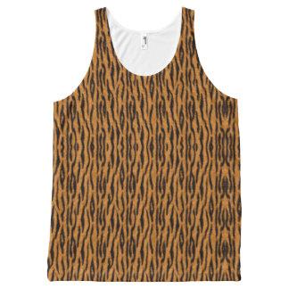 Regata Com Estampa Completa Tigre